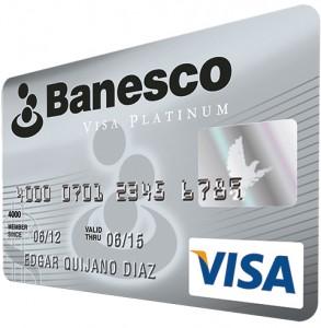 visa platinum de banesco