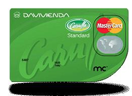 Tarjetas Davivienda Carulla MasterCard