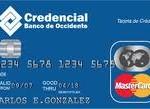 Tarjeta Credencial MasterCard Clásica Banco de Occidente