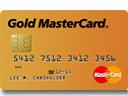 Tarjeta de crédito MasterCard Gold