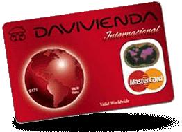 Tarjeta MasterCard Clasica Davivienda