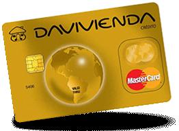 Tarjeta MasterCard Gold Davivienda