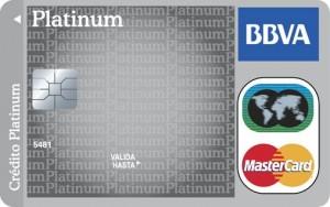 Tarjeta MasterCard Platinum de BBVA