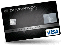 Tarjeta Visa Signature Davivienda