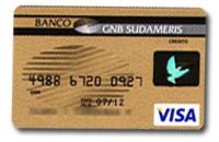 Tarjeta de Oro de GNB de Sudameris