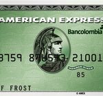 tarjeta american express verde bancolombia