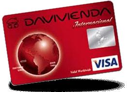 Tarjeta Visa Clásica Davivienda
