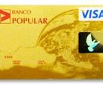 Tarjeta de Crédito Oro del Banco Popular